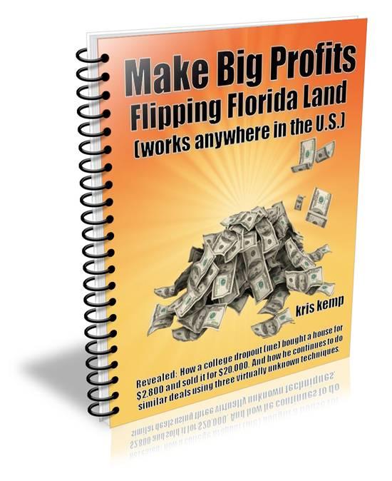 Learn How to Make Big Profits Flipping Florida Land